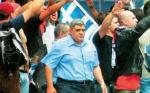 Golden Dawn President arrested this morning